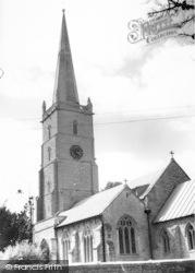 East Brent, St Mary's Church c.1965