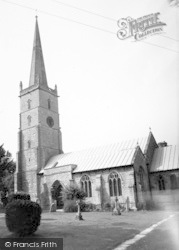 East Brent, The Church c.1960