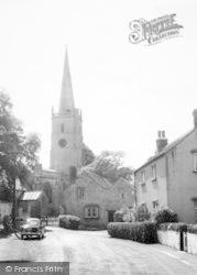 East Brent, The Church c.1965