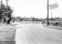 East Brent, The Cross Roads c.1965
