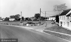 East Brent, The Memorial And Brent Knoll Inn c.1960