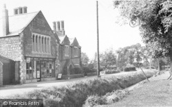 East Brent, The Post Office c.1960