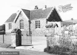 East Brent, The School c.1965