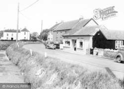 East Brent, The Shops c.1965