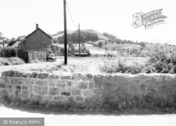 East Brent, The Village c.1965