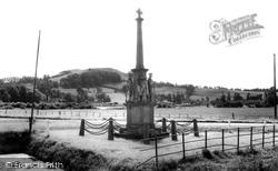 East Brent, The War Memorial c.1960