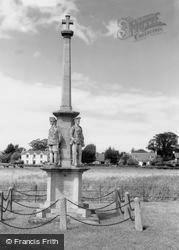 East Brent, The War Memorial c.1965