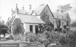 East Brent, Vicarage 1887