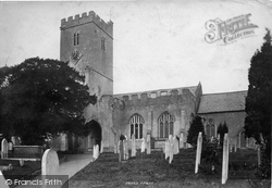 East Budleigh, All Saints Church 1890