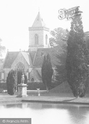 East Budleigh, Bicton Church 1890