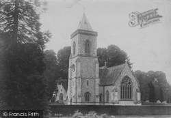 East Budleigh, Bicton Church 1906