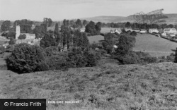 East Budleigh, General View c.1955