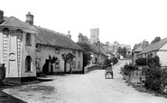 East Budleigh, Main Street 1914