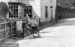 East Budleigh, Perambulator 1906