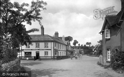 East Budleigh, Rolle Arms Hotel 1928