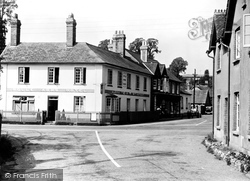 East Budleigh, Rolle Arms Hotel c.1955