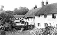East Budleigh, the Old Vicarage c1955