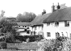 East Budleigh, The Old Vicarage c.1955