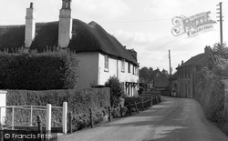 East Budleigh, The Village 1951