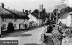 East Budleigh, The Village c.1955