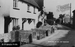 East Budleigh, The Village c.1960