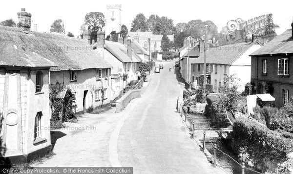 East Budleigh, Village 1938