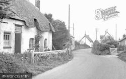 East Burton, The Village c.1955