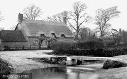 East Burton, Water Splash c.1950