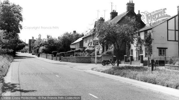 East Challow, Main Road c1955