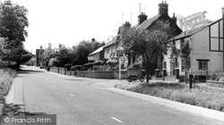 East Challow, Main Road c.1960