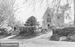 East Challow, St Nicholas Church c.1955