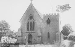 East Challow, St Nicholas Church c.1960