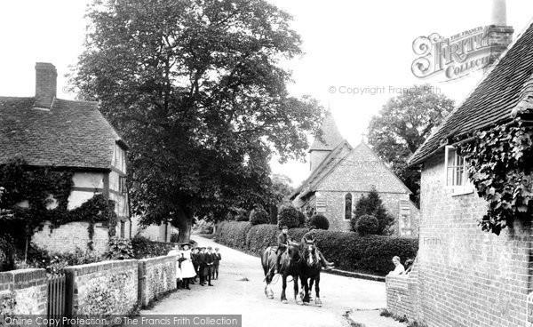 East Clandon village, 1907