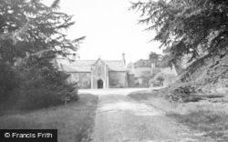 East Coker, Coker Court, Clare School c.1956