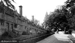 East Coker, The Almshouses c.1955