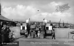 The Floating Bridge c.1955, East Cowes