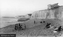 East Dean, Birling Gap c.1960