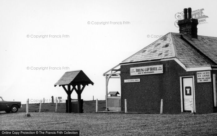 Photo of East Dean, Birling Gap Hotel c.1960