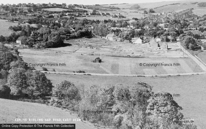 Photo of East Dean, Birling Gap Road c.1955