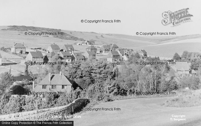 Photo of East Dean, c.1955