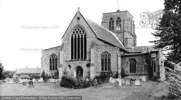 Photo of East Dean, Church c.1955