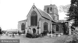 East Dean, Church c.1955