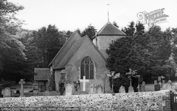 Photo of East Dean, Church Of St Simon And St Jude c.1960