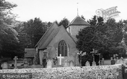 East Dean, Church Of St Simon And St Jude c.1960