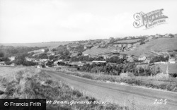 East Dean, General View c.1955