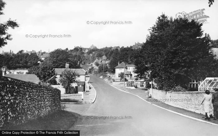 Photo of East Dean, Main Road c.1955