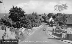East Dean, Main Road c.1955