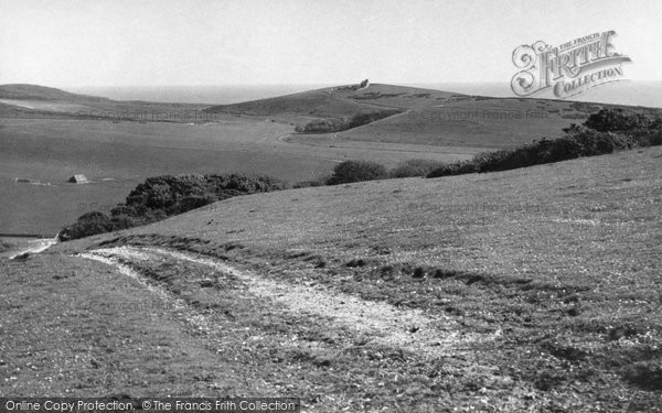 Photo of East Dean, Old Belle Toute Lighthouse c.1955