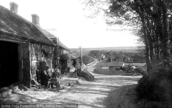Photo of East Dean, Old Forge 1921