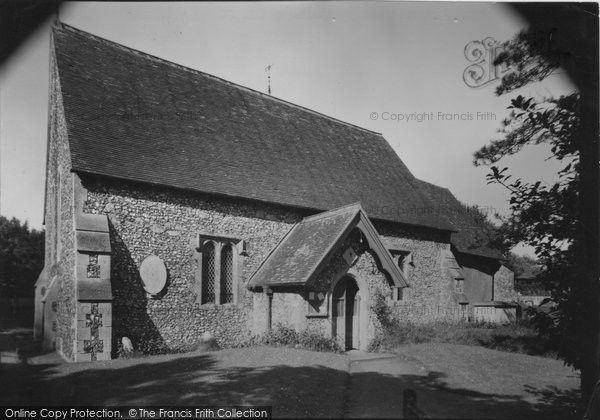 Photo of East Dean, St Simon And St Jude's Church c.1955